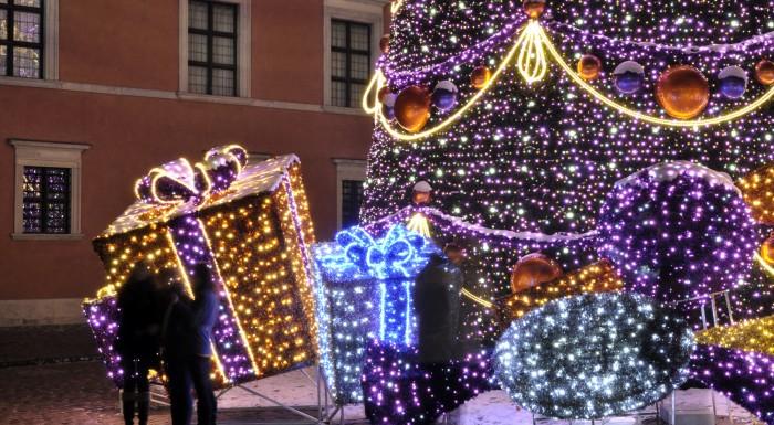 Christmas atmosphere in Warsaw!