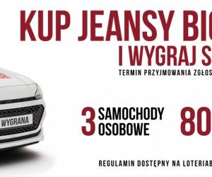 Kup Jeansy Big Star i wygraj samochód !