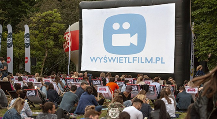 Summer outdoor  cinema in Park Sielecki 07/07 - 25/8/2018