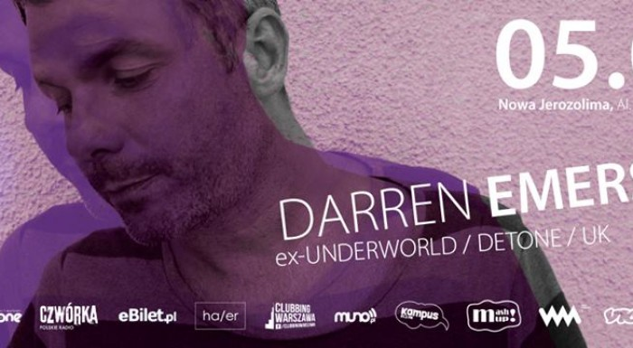 DARREN EMERSON (ex-UNDERWORLD / DETONE /UK)