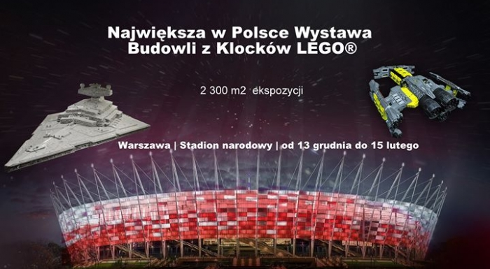 The biggest in Poland LEGO exhibition