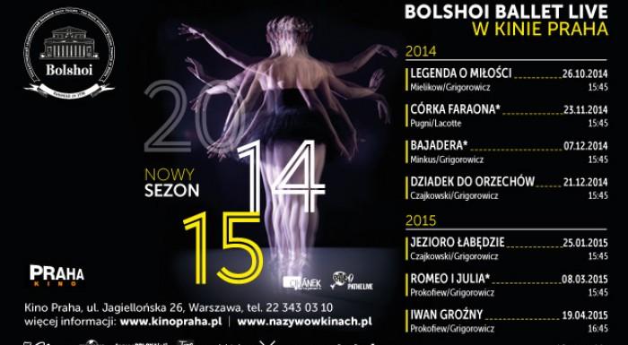 BOLSHOI BALLET LIVE in Praha Cinema