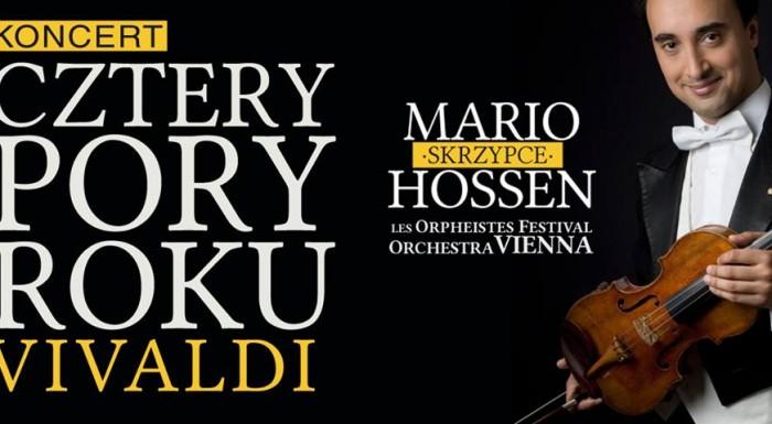 Mario Hossen i Les Orpheistes Festival Orchestra Vienna
