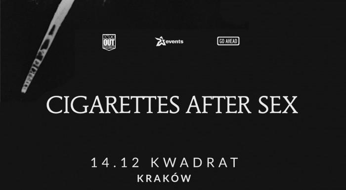 Cigarettes After Sex na 3 koncertach w Polsce