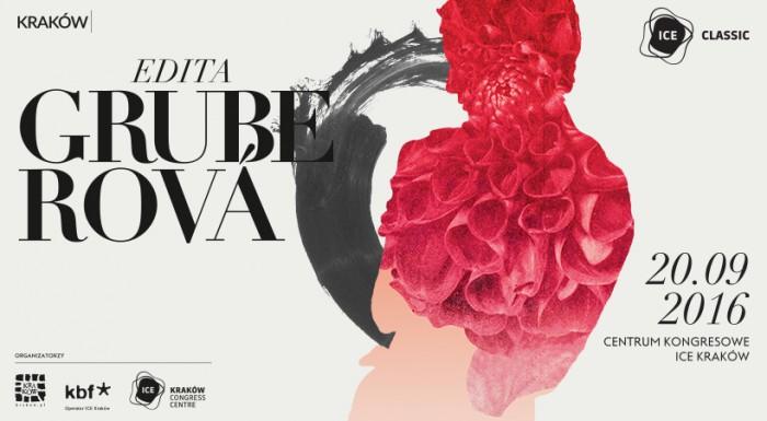 Program koncertu ICE Classic - Edita Gruberova