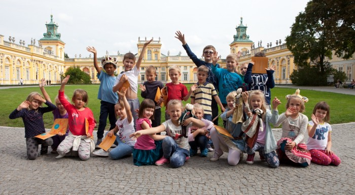 Zajęcia dla dzieci w Pałacu w Wilanowie