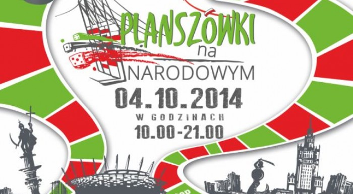 Board Games on National Stadium // Warsaw board game festival