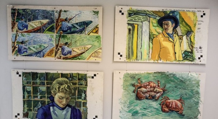 Exhibition of paintings from