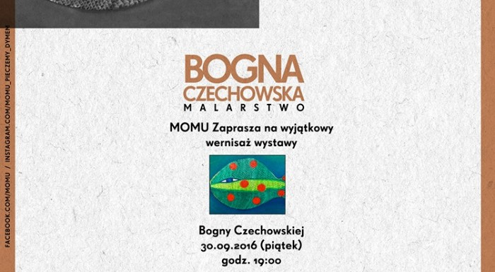 Bogna Czechowska's vernissage