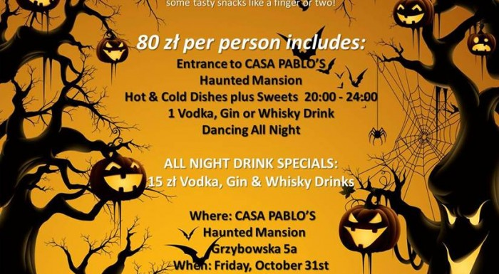 Casa Pablo's Legendary Annual Halloween Party!