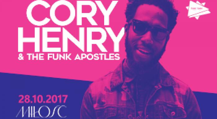 Cory Henry & The Funk Apostles w klubie Miłość