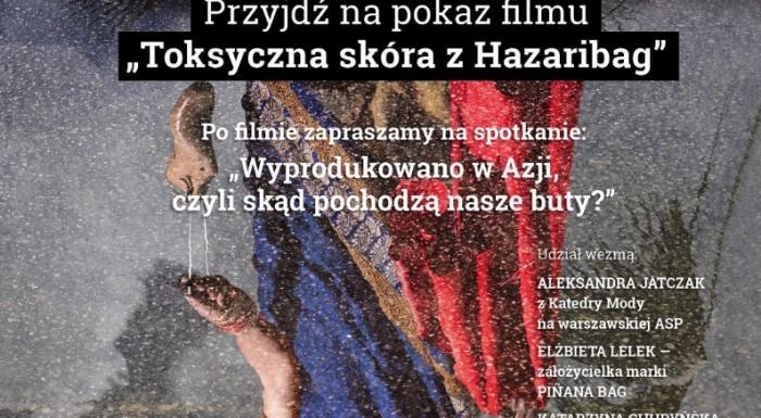 Toksyczna skóra z Hazaribag z okazji Dnia Praw Człowieka