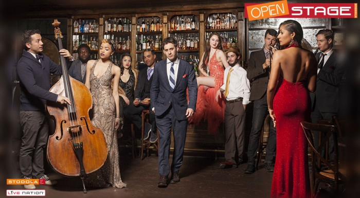 SCOTT BRADLEE & POSTMODERN JUKEBOX - OPEN STAGE
