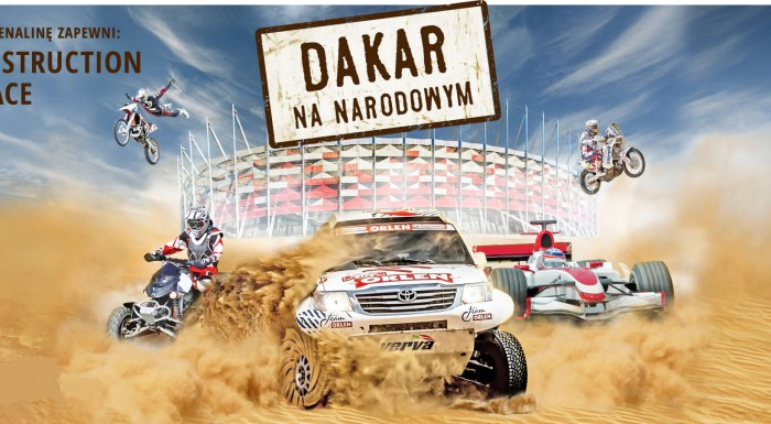 VERVA Street Racing - Dakar on National Stadium