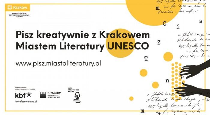Creative writing workshopwith UNESCO's City of Literature