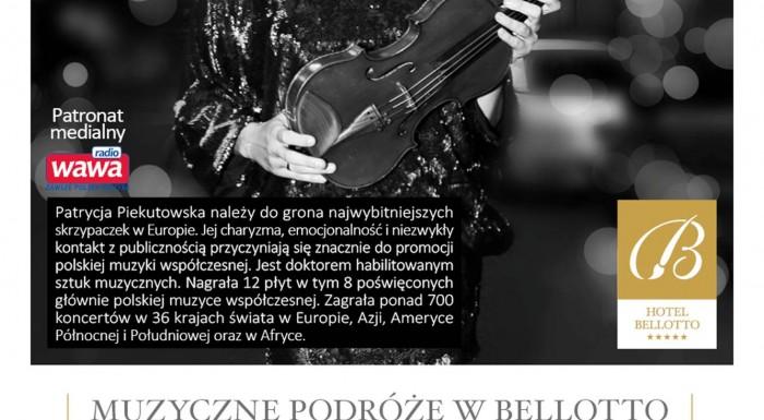 Musical Journeys in Bellotto – Patrucja Piekutowska