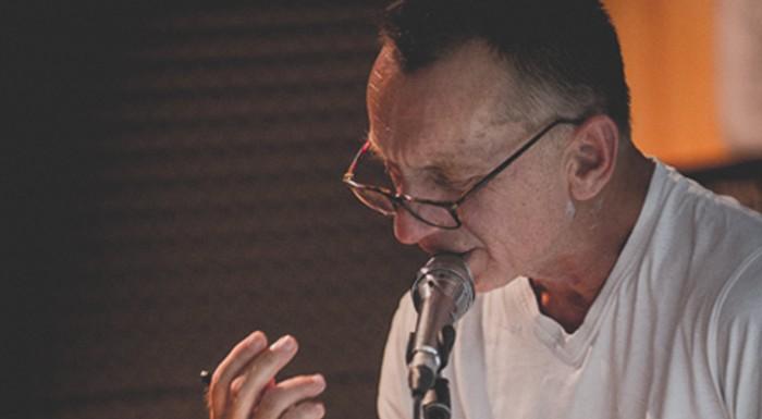 Krzysztof Tyniec in his recital