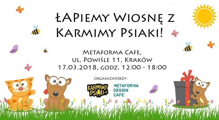 Animal charity event with foundation Karmimy Psiaki