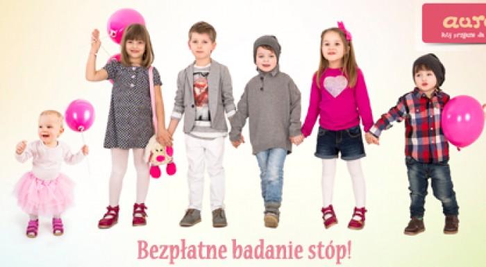 Bezpłatne badanie stóp dzieci w Wola Parku
