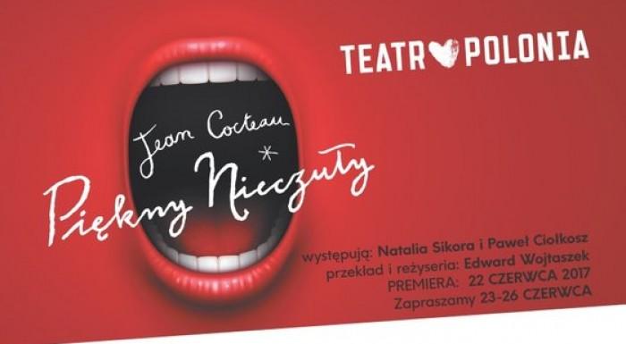 Natalia Sikora i Zbigniew Zamachowski w Teatrze Polonia
