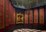 Original Turkish fabrics in the Museum of King Jan III's Palace at Wilanów -temporary exhibition