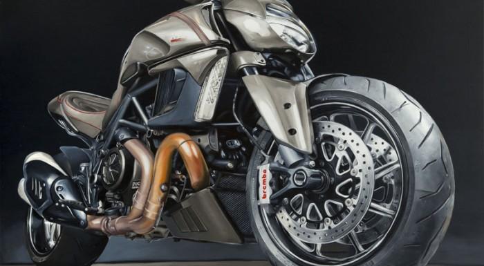 """Ducati Diavel"", Marek Pękacz, 2014-2015"