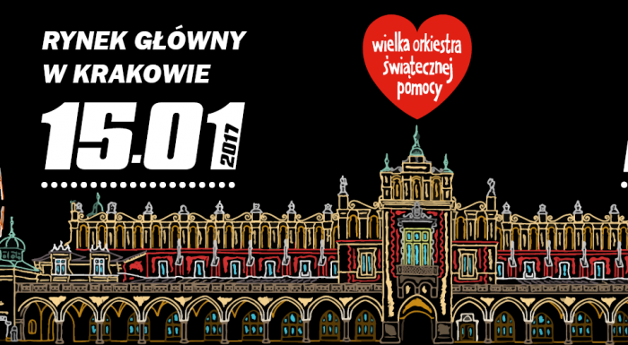 25th Finale of the Great Orchestra of Christmas Charity in Kraków