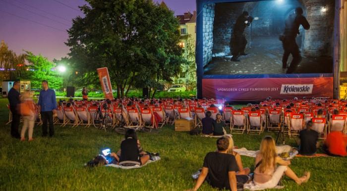 Summer cinema with Królewskie