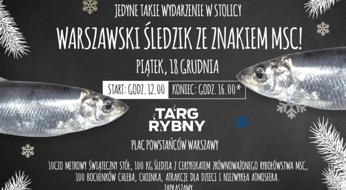 Specjalna edycja Targu Rybnego w Warszawie