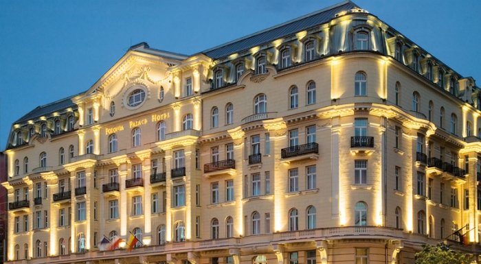 polonia palace hotel nocleg warszawa via city map. Black Bedroom Furniture Sets. Home Design Ideas
