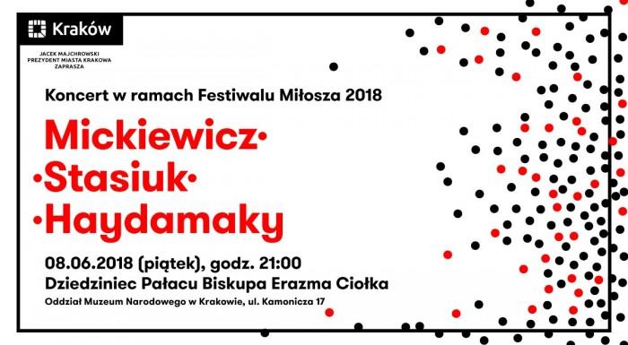 Stasiuk i Haydamaky na Festiwalu Miłosza