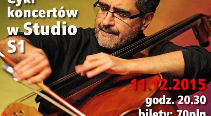 Renaud Garcia-Fons w Studio S1