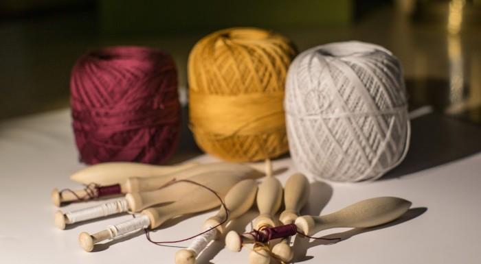 Bobbin lace – workshops at Wilanów