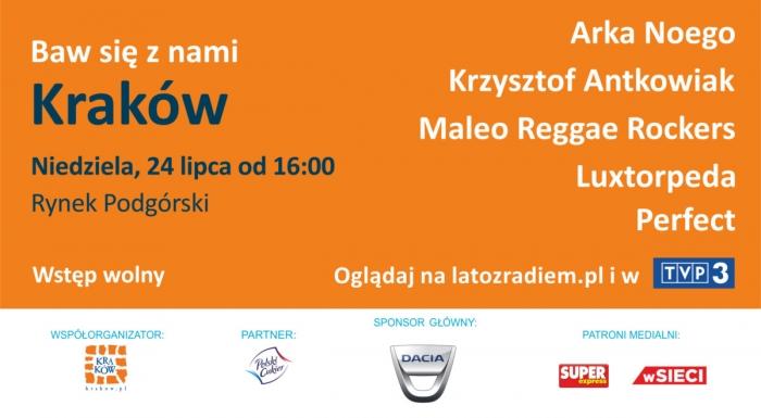 """ Summer with the Radio"" [Lato z Radiem] in Kraków"