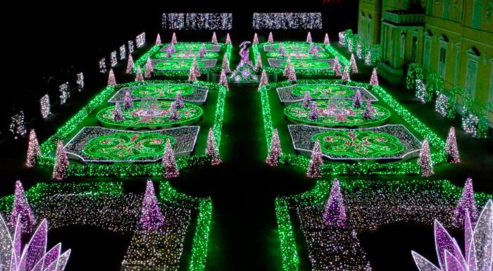 Królewski Ogród Światła – wystawa plenerowa Muzeum Pałacu Króla Jana III Sobieskiego w Wilanowie