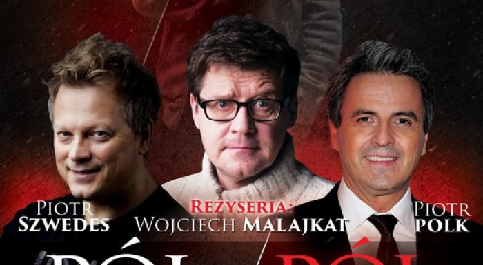 Guest performance PÓŁ NA PÓŁ in March in Teatr Polonia