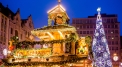 Christmas atmosphere in Wroclaw