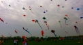 Kite parade on the Vistula