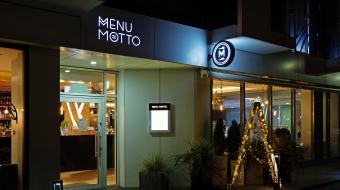 Menu Motto restaurant