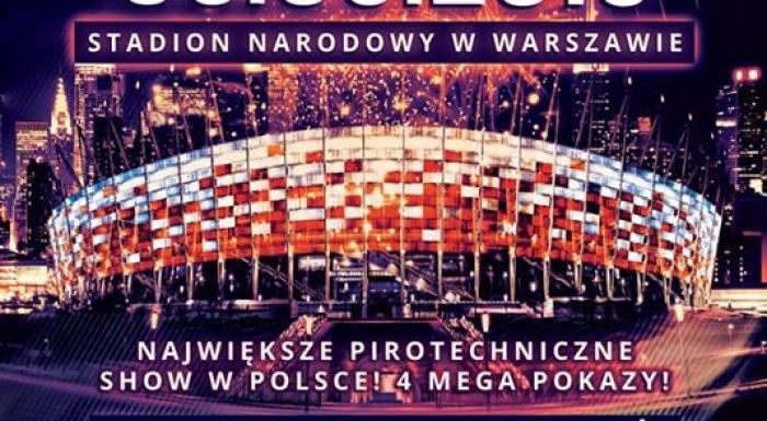 Międzynarodowe pokazy pirotechniczne na Stadionie Narodowym!